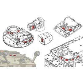 Accessori Afv Club per carri scala 1-35 AC35011