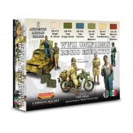 Colori Acrilici Lifecolor per Uniformi Italiane CS14