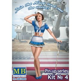 Kit in plastica figure MB24004