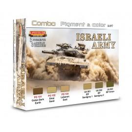 Colori e pigmenti Lifecolor per Esercito Israeliano SPG01