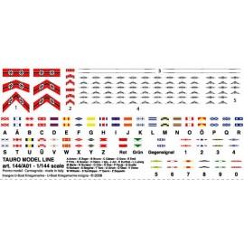 Bandiere in carta Tauro Model TU144A01