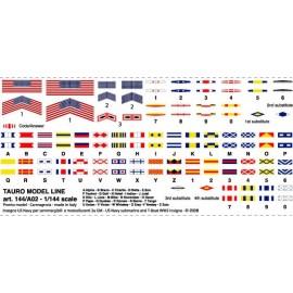 Bandiere in carta Tauro Model TU144A02
