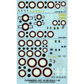 Decalcomanie Tauro Model TU48538