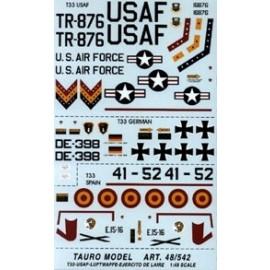 Decalcomanie Tauro Model TU48542