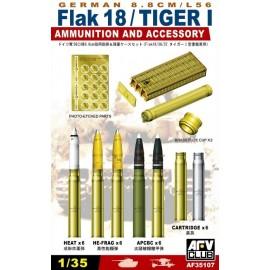 Kit in plastica accessori AF35107