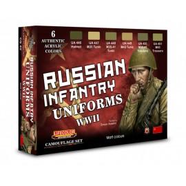 Colori Acrilici Lifecolor per uniformi russe WWII CS42
