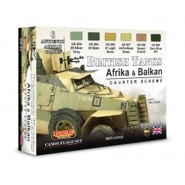 Colori Acrilici Lifecolor per carri inglesi WWII CS43