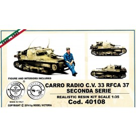 Kit in resina carri Model Victoria MV40108