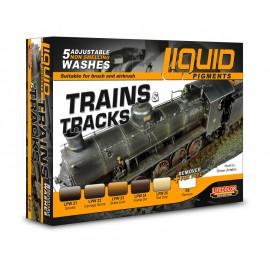 Complementi Lifecolor per invecchiare Treni e Vagoni LP05
