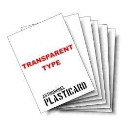 Carta Plastica CPT020
