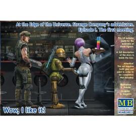 Kit in plastica figure MB24031