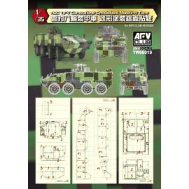 Accessori Afv Club per carri scala 1-35 TW60019