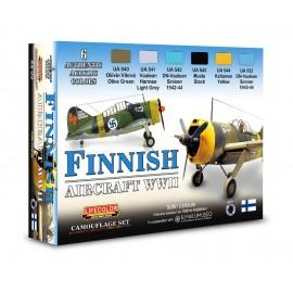 Colori Acrilici Lifecolor per Aerei Finlandesi XS09