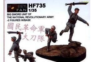 Kit in resina figure HF735