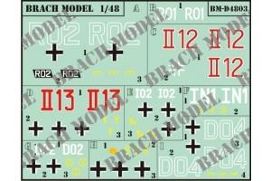 Decalcomanie Brach Models BMD4803