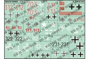 Decalcomanie Brach Models BMD7205