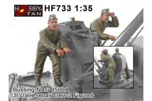 Kit in resina figure HF733